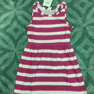 Girls Gymboree sleeveless dress sz M 7/8 NWT
